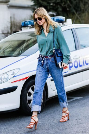 Paris Fashionweek day 5, outside Chloe, Pernille Teisbaek,